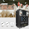 4500W que amortiguan la luz Dimmable impermeable del tubo del sistema LED con el regulador de amortiguación auto para las vertientes de Chiken, aves de corral contienen