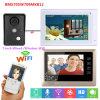 система Doorphone /Doorbell связанная проволокой внутренной связью /Wireless WiFi 7  2 мониторов видео-