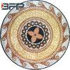 조경 프로젝트 모자이크 큰 메달 패턴 대리석 돌