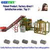 Concrete Qtj4-25 the Philippines Automatic Cement Brig Making Machine