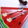 Forquilha do Flatware dos utensílios de mesa do presente e jogo relativos à promoção personalizados do presente da colher