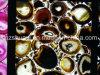Het Agaat van de Kleur van de koffie voor de Marmeren Lijst van de Conferentie