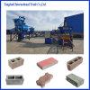 Prix creux en pierre semi-automatique de machine de brique de machine du bloc Qt5-15/machine à paver de couleur