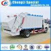 Mini Auyo Foton 5 mètre cube d'un compacteur ordures camion cargo