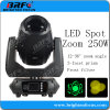 Повышение ступени 250 Вт светодиодные фонари направленного зум перемещение головки блока цилиндров