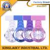 Reloj plástico colorido de la enfermera cumpla con el estándar del CE