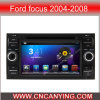 フォードFocus (AD-7301)のためのA9 CPUを搭載するPure Android 4.4 Car DVD Playerのための車DVD Player Capacitive Touch Screen GPS Bluetooth