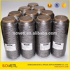 Ofertas de compra a granel 316L de Fibras de Aço Inoxidável Rosca Metálica para máquinas de costura