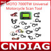 2014 nuevo Arrival Moto 7000tw Universal Motorcycle Scan Tool, Highquality Moto 7000tw para Motorcycle