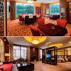 Комплект спальни мебели гостиницы твердой древесины (EMT-SKA08)