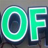De reclame van de LEIDENE AcrylTekens van de Brief voor de Winkel van de Koffie