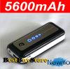 iPhone를 위한 5600mAh Portable Power 은행 4 4s 5 5s/Samsung