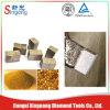 Het Segment van het Blad van de diamant voor Natuurlijke Steen