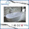 3 tamaños de superficie sólida Oval baño bañera de patas (AB6906-2)