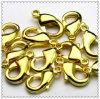 Золото плакировкой фермуара Loster ожерелья (2718)