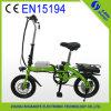 Зеленое Power 36V 250W Litnium Battery Electric Bicycle