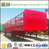 Het Populaire Type van China Shengrun van de Semi Aanhangwagen van de Lading van de Staak in Afrika