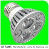Luz 3W 300lm do ponto do diodo emissor de luz E27