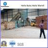 Hellobaler製紙工場Hfa10-14-Iのための水平の自動油圧出版物の梱包機