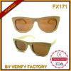 Lunettes de soleil Fx171 en bambou et lunettes de soleil chinoises de grossiste