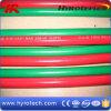 De groene Slang van de Zuurstof en de Rode Slang van het Acetyleen van de TweelingSlang van het Lassen