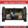 Reprodutor de DVD especial de Car para Jeep Grand Cherokee com GPS, Bluetooth. com o Internet de Dual Core 1080P V-20 Disc WiFi 3G do chipset A8 (CY-C263)