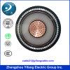 3.3kv, 6.6kv, 11kv, 22kv, 33kv, cabo de cobre blindado S/C 300mm2 do fio de alumínio de U/G
