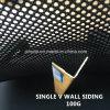 最上質PVCは切る内部の家の壁の下見張りの装飾のアクセサリVの形(RN-85)を
