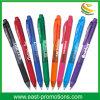 Изготовленный на заказ пластичный шариковой ручки с печатание логоса