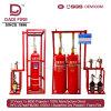 Sistema de Combate de Incendios de alta eficiencia FM200 90L HFC-227ea la supresión de incendios