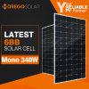 Última Fotovoltaica Mono 300W 340W 350W do módulo do painel de Energia Solar