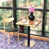De hoge Stoel van het Leer van de Winkel van de Koffie van het Restaurant van het Eind Houten voor Verkoop (foh-0780)