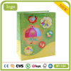 Bolsa de papel revestido del regalo de la torta del supermercado de la ropa del juguete del bebé que hace compras