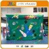 4X2.5X2.3m aufblasbares gute Qualitätsluft-Fußball-Eintragfaden-Spiel des Fußball-Pfeil-Game/PVC für Kinder