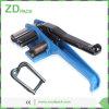 19-50mm cinta de fibra óptica Cable de fibra de la herramienta de flejes de Manual del Tensor de flejes