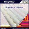Papel pintado natural no tejido del nuevo papel pintado decorativo 3D para la decoración casera los 0.53*10m