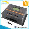 24V/12V 10A 태양 전지판 규칙 LCD 책임 또는 Dicharge 관제사 S60