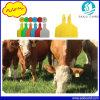 Etiquetas de oído animales de los asegurados del ganado con la impresión por láser