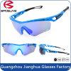 Nouveau Style d'usine Ultra-Tough TR90 UV400 exécutant le Golf des lunettes de soleil pour les sports