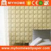 Papier de mur de la décoration 3D de chambre à coucher avec du vinyle lavable