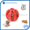 Dog Toy Ball Durable Non-Toxic Soft Rubber Dog Chew Ball Dentes de limpeza, Iq Treinamento
