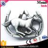 Kundenspezifische Gürtelschnalle des Pferden-3D hergestellt in der Zink-Legierung für Form-Zubehör