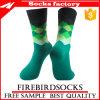 GroßhandelsArgyle grüne Socken mit Zoll