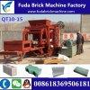 Qt10-15 10PCS/Mold 유압 구체적인 빈 구획 기계 또는 색깔 포장 기계 벽돌 기계