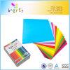 papel del color 250sheets en A4