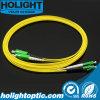Kabel Sca van het Flard van de vezel de Optische aan Lca DuplexSm 2.0mm