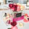 De waterdichte Duidelijke AcrylDoos /Rose die van de Opslag van de Bloem Doos inpakken