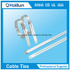 Sola atadura de cables del acero inoxidable del bloqueo de la lengüeta de la nueva escala de la producción
