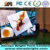 El panel de visualización de interior de LED del alto brillo P4