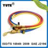 Диапазон Yute Professional 7/32 дюйм дюймовый красный/желтый/синий R12 Зарядный шланг